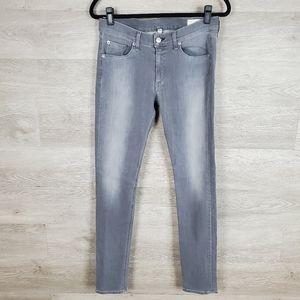 Rag & Bone High Rise Skinny Jean Size 30 Grey